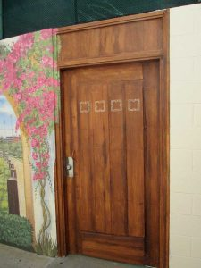 Faux Door After San Diego Faux