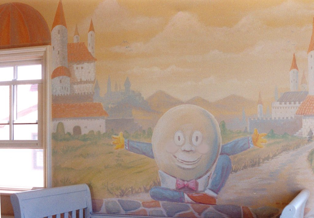 Humpty Dumpty kids Mural San Diego Carlsbad Solana Beach North County