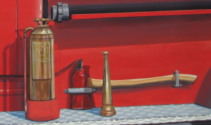 Ax, Nozzle, Extinguisher Close Up