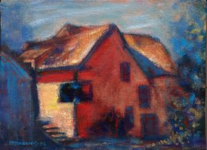 """House Next Door"" pastel 8"" x 10"""