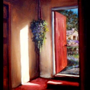 """Radiance Outside"" acrylic 36"" x 24"""