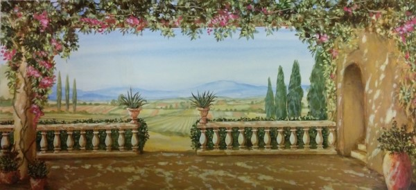 Tuscany Fields Rendering