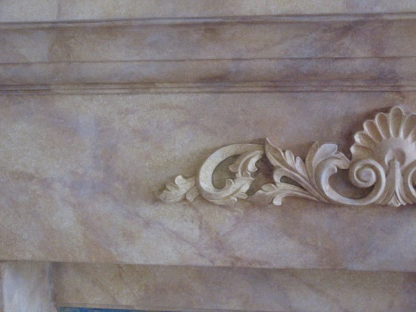 Faux Marble close up