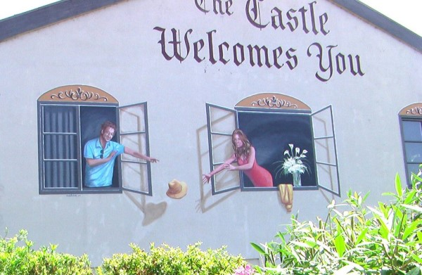 The Castle Mural