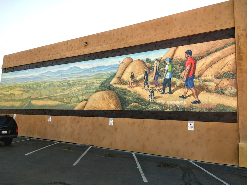 Mt. Woodson Mural Ramona, California