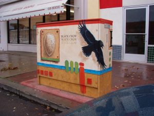 "Utility Box Project ""Black Crow"""