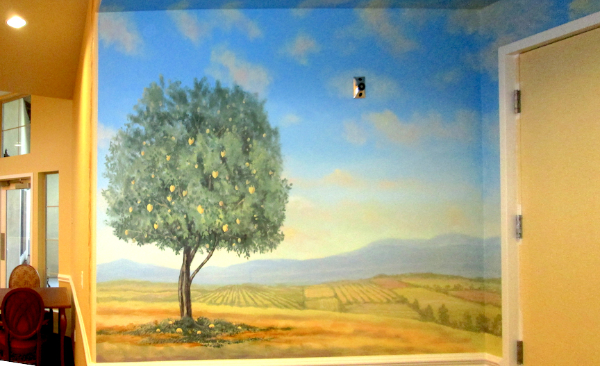 Lemon Tree Mural