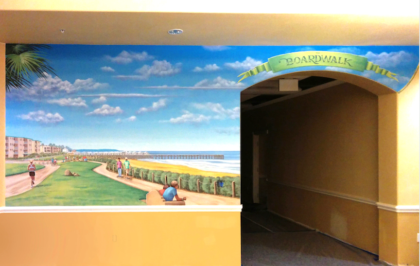 Boardwalk Mural