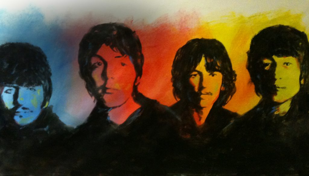 Beatles Painting