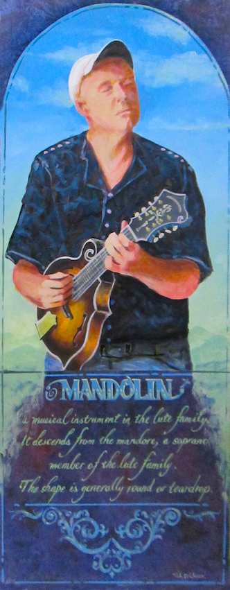 Mandolin painting