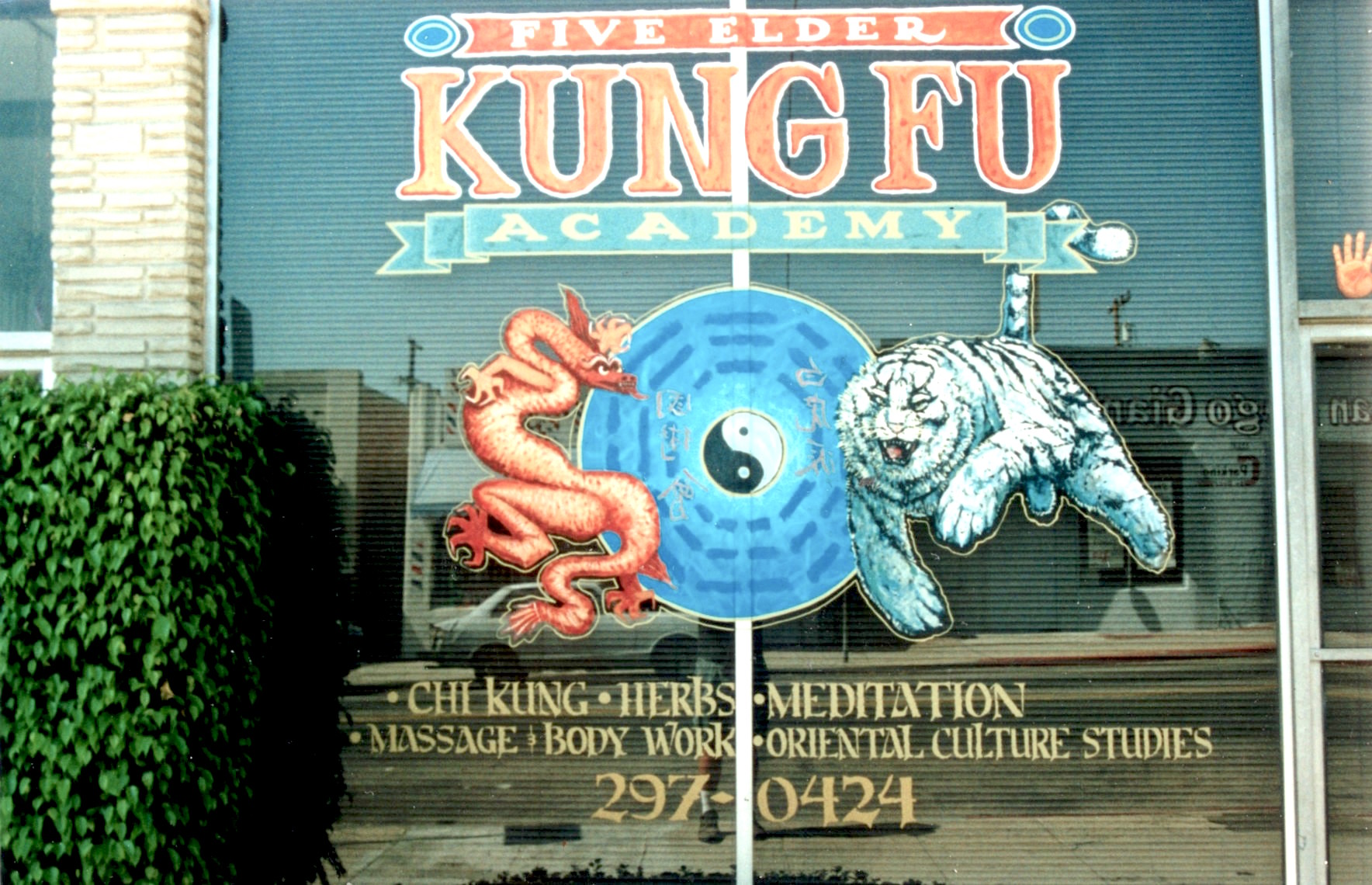 Kung Fu Window