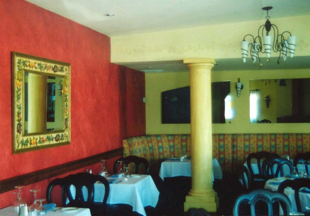 Restaurant Wall Decorative Treatments