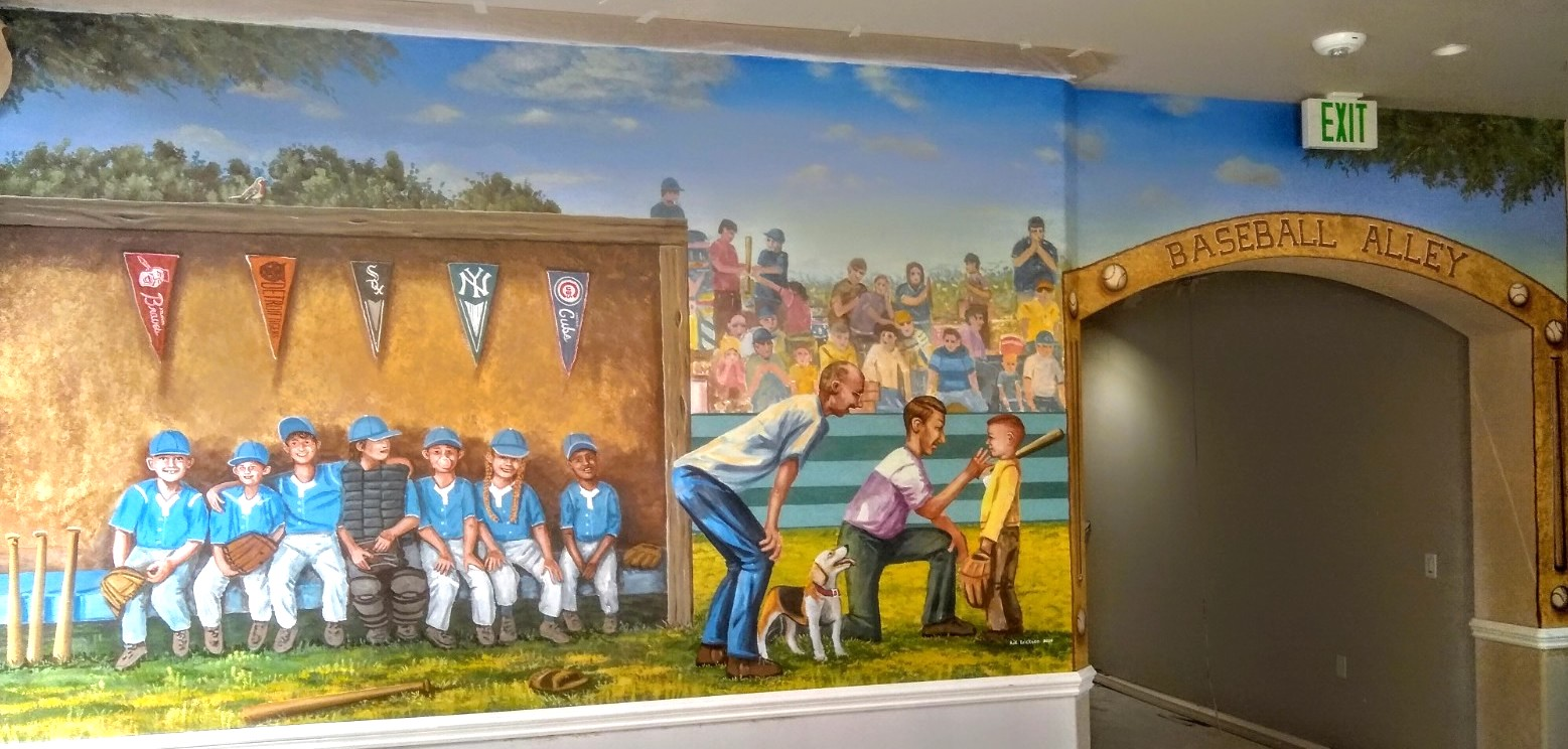 Coaching The Game mural