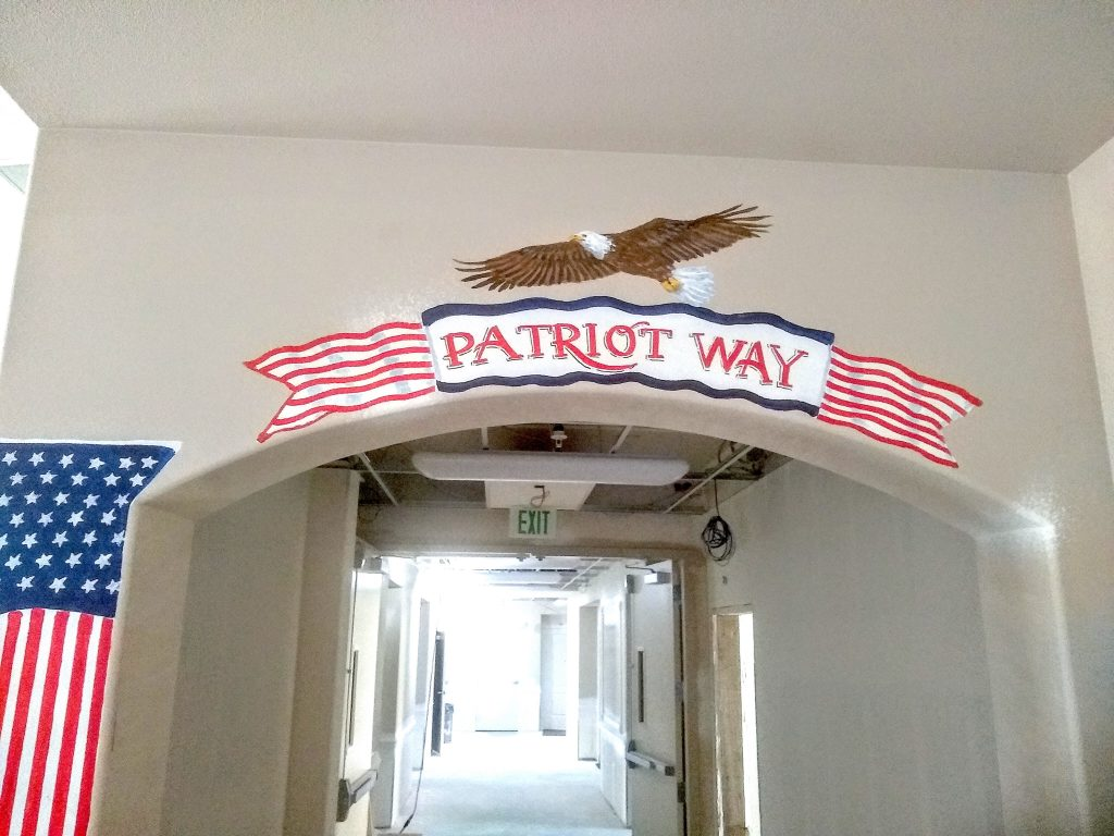 Patriot Way Sign