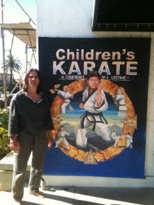 Childrens Karate canvas