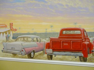 Drive-In Theater with Classic Cars 2