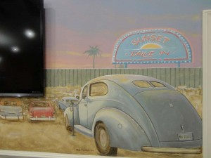 Drive-In Theater with Classic Cars 3