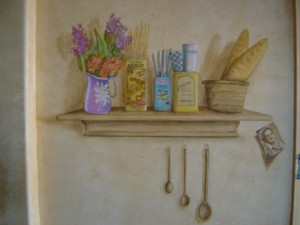 French shelp trompe l'oeil