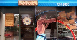 karate window signs