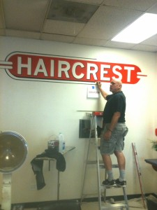 Haircrest sign