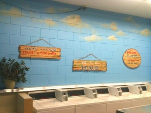wall signs for beach mural