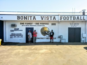 Bonita Vista High School Lettering