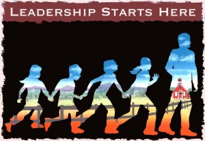LEADERSHIP STARTS HERE rendering idea
