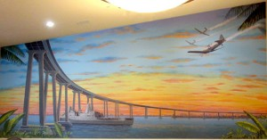 Patriot Mural ove Coronado Bridge