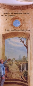 Tuscan Garden Scene w explanations